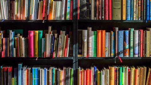 Bücherei in Schottland