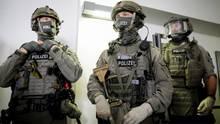 GSG9-Spezialeinsatzkräfte bei einem Fototermin vergangenes Jahr in Berlin