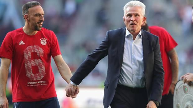Jupp Heynckes Ribéry