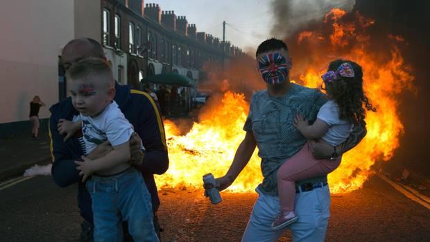 Nordirland ist auch 20 Jahre nach dem Friedensabkommen unversöhnt