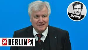 Berlin³ zu Horst Seehofer: Der Hyper-Aktive