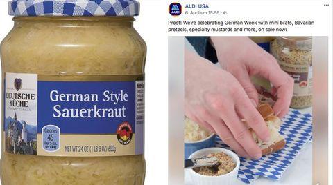 """Aldi USA feiert die """"German Week"""""""