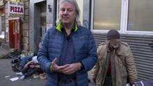 Anwohner und Journalist Ulrich Mattner bietet thematische Führungen durch das Frankfurter Bahnhofsviertel an. Er kennt die Problematik der zahllosen Junkies dort nur zu gut.
