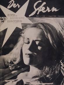 Hildegard Knef auf dem Cover des ersten stern vom 1. August 1948