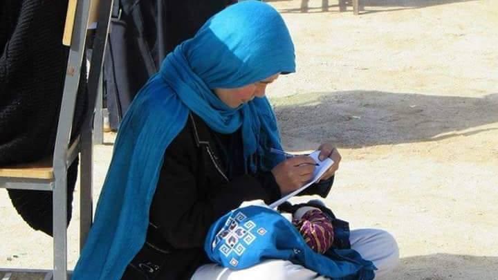 Afghanistan: Wie ein Still-Foto das Leben dieser jungen Mutter verändert