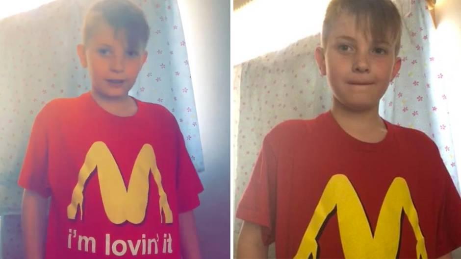 Peinlicher Irrtum: McDonald's-T-Shirt ist nicht ganz jugendfrei