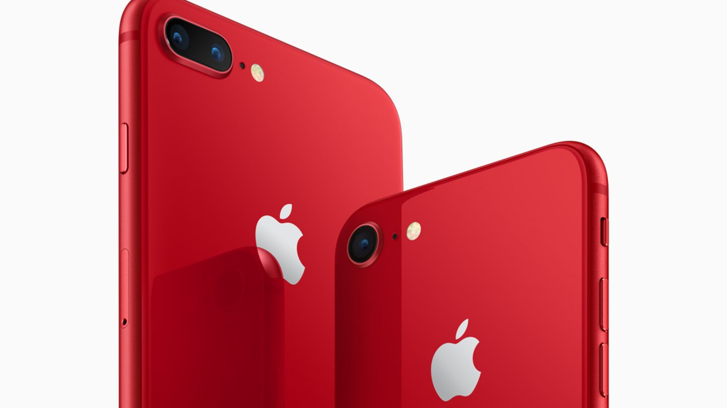 apple - iphone 8 - rot - product red - special edition