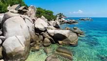 Die Insel Koh Tao in Thailand