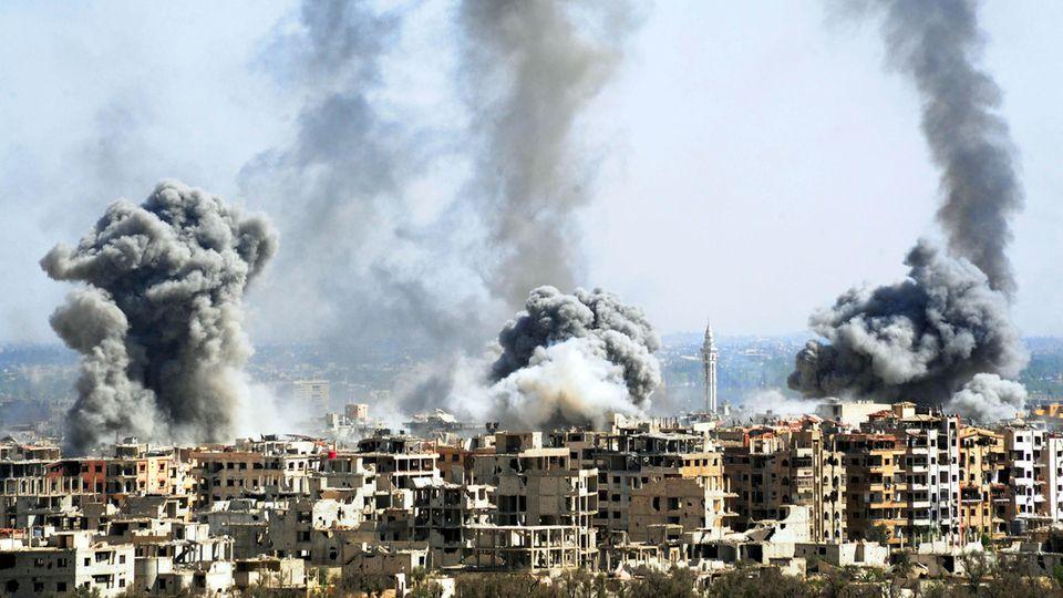 Giftgaseinsatz in Syrien? UN-Mitarbeiter können Berichte nicht verifizieren