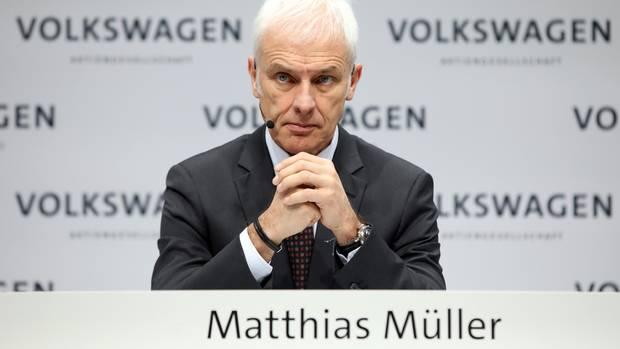 Matthias Müller, Vorstandsvorsitzender der Volkswagen AG