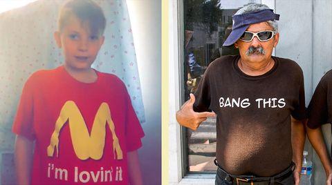 Es geht noch schlimmer: Das sexy McDonald's-Shirt ist peinlich? Für diese Shirts müsste sich auch mal jemand entschuldigen!
