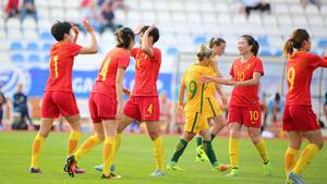 China kann über die Qualifikation für die Frauenfußball-WM jubeln