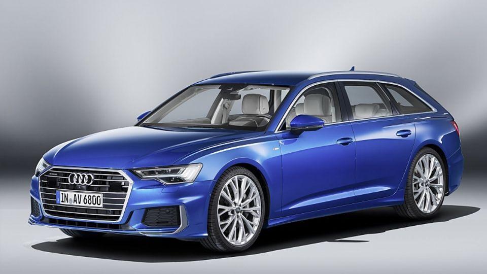 Audi A6 Avant 2019 - optisch wie aus einem Guss