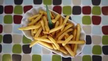 Krebserregender Stoff Acrylamid in Pommes frites