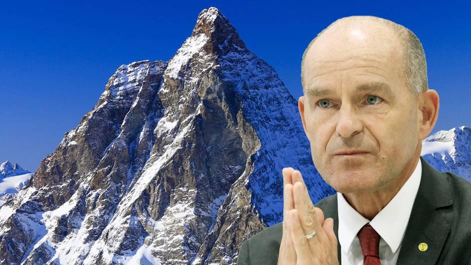 Tengelmann-Chef Karl-Erivan Haub wird im Gebiet rund um das Schweizer Matterhorn vermisst