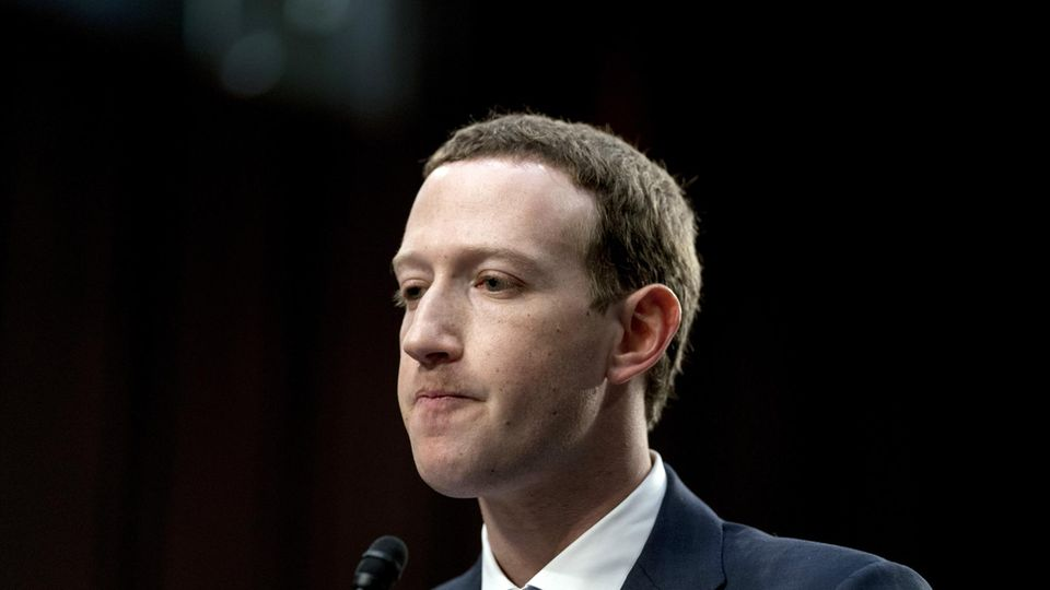 Facebook Mark Zuckerberg US-Kongress