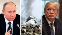 Wladimir Putin, Syrien, Donald Trump
