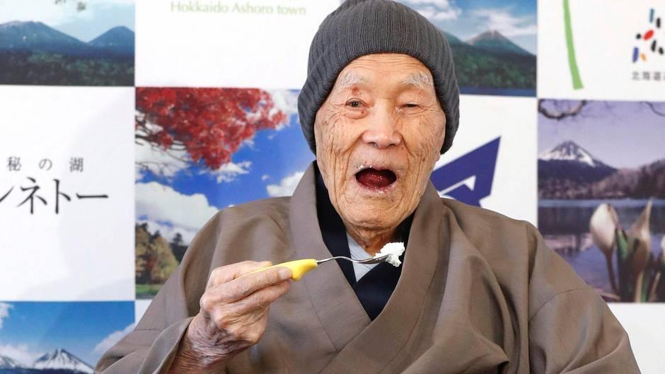 112 Jahre alt: Masazo Nonaka gilt als ältester Mann der Welt - das ist das Geheimnis seines hohen Alters