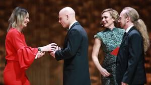 Verleihung des Nannen Preises in der Kategorie Web-Projekt