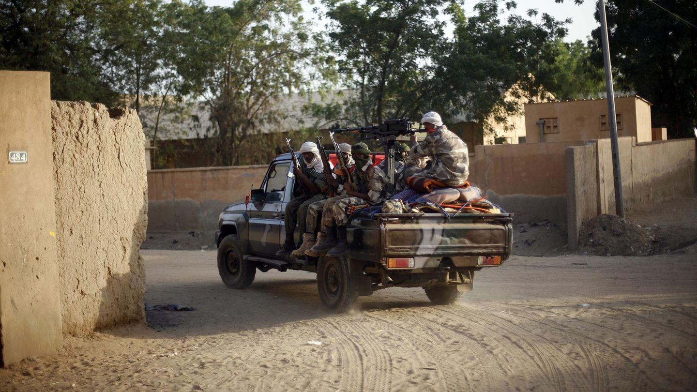Islamistische Rebellen im Niger