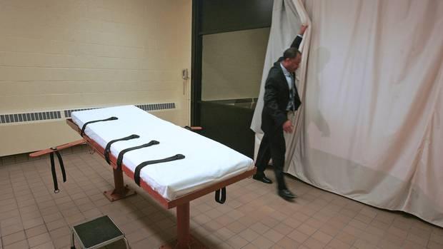 Hinrichtungsraum in Ohio