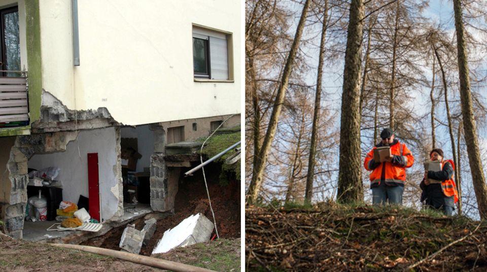 Bergbauschäden: Zehntausende alte Stollen sind einsturzgefährdet
