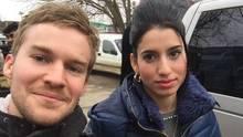 Zum Abschluss ein Selfie mit dem Reporter