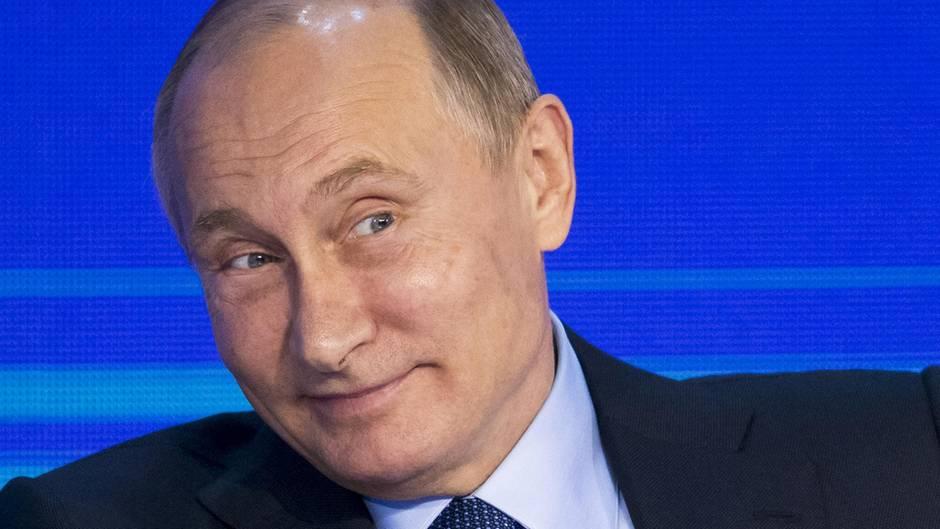 Wladimir Putin befand es nicht für notwendig, Donald Trumps Drohungen konkret zu kommentieren