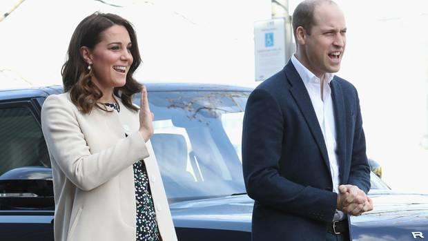 Freuen sich auf Baby Nummer drei: Prinz William und Herzogin Kate