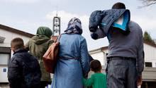 Umgekehrte Flucht - Syrer - familiennachzug
