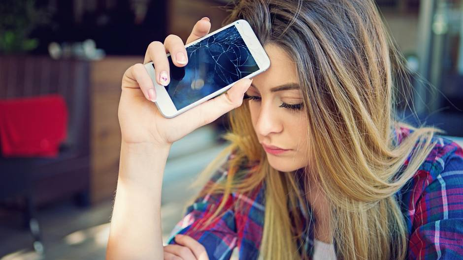 iPhone Broken kaputt Display