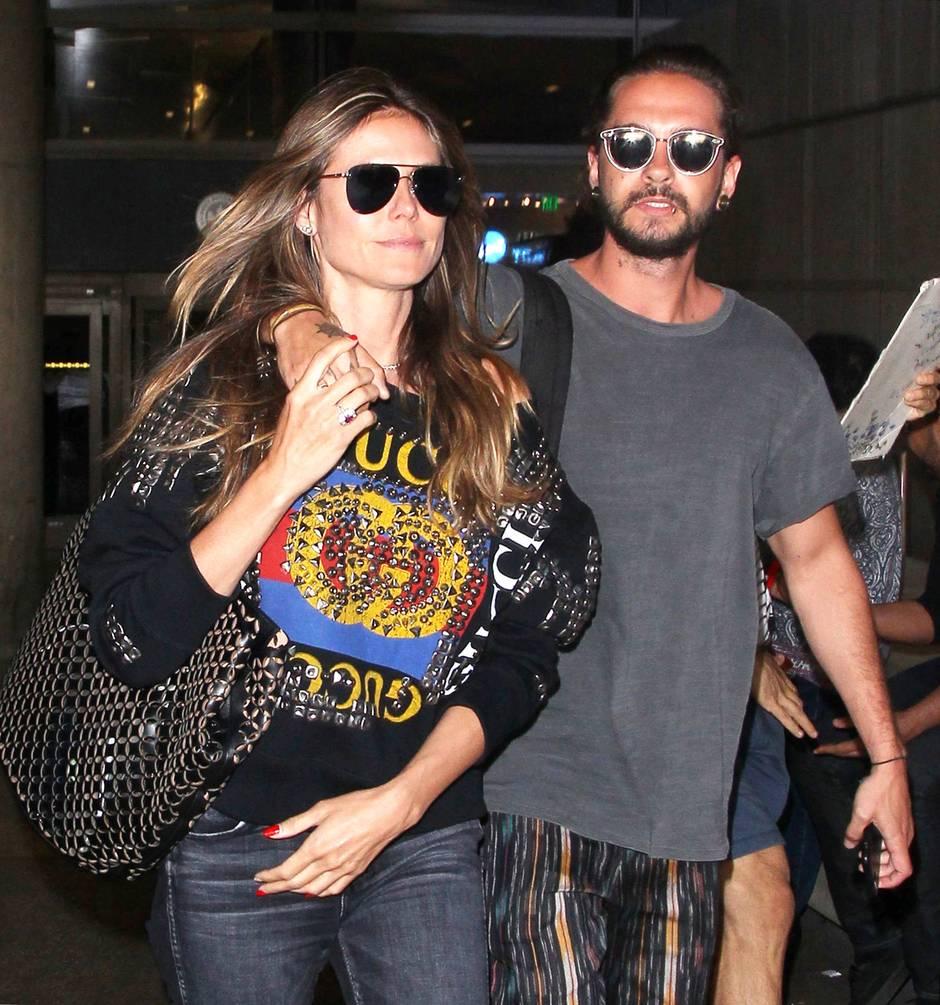 Heidi Klum Und Tom Kaulitz Sind Aus Ihrem Liebesurlaub Zurück Sternde