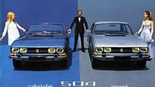 Cabrio und Coupé wurden von Pininfarina designt.