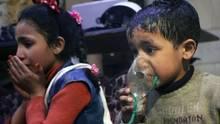 In der Nacht zum 8. April 2018 sollten diese Kinder Opfer eines Chemiewaffen-Einsatzes geworden sein. Aber wer ist dafür verantwortlich? Oder war es eine Inszenierung? Das untersuchen nun Ermittlerder Organisationfür ein Verbot der Chemiewaffen (OPCW)
