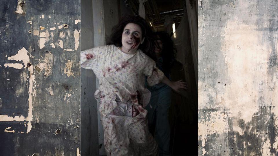 Jade ist Geisterbahn-Schauspielerin