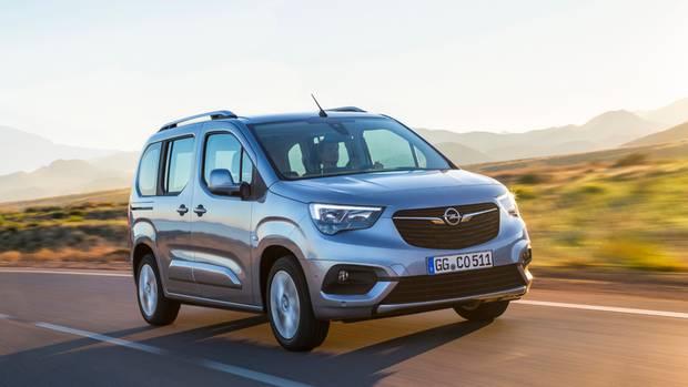 Die Front des Combo Life passt sich dem Opel-Markenantlitz an