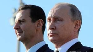 Russland Syrien Baschar al Assad Wladimir Putin