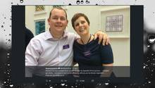 Chris Pointon und Ehefrau Dr. Kate Granger
