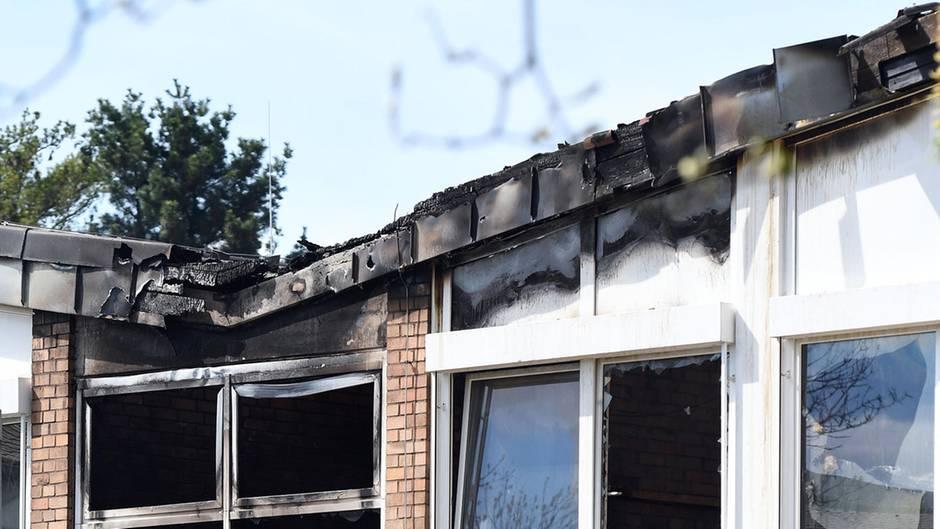 Hauptschule in Hennef brannte