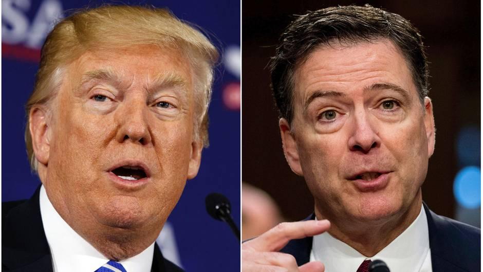 """Ex-FBI-Chef James Comey: """"Donald Trump ist moralisch nicht dazu geeignet, Präsident zu sein"""""""