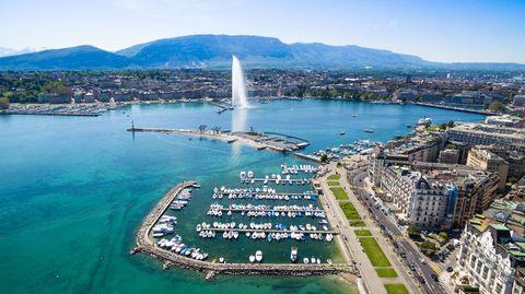 Reisende in Europa müssen einer Studie des Beratungsunternehmens PwC zufolge für eine Hotel-Übernachtung in Genf am tiefsten in die Tasche greifen.