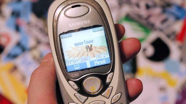 """Ohne Smartphone: mein """"neues"""" Siemens C60"""