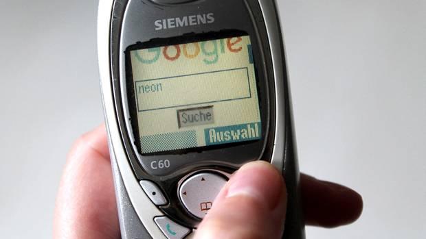 Google auf dem Siemens C60