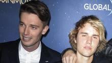 Justin Bieber und Patrick Schwarzenegger im März auf einer Filmpremiere