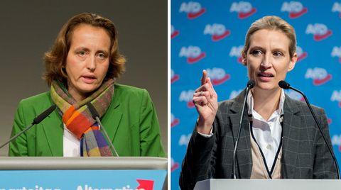 AfD-Politiker Beatrix von Storch und Alice Weidel