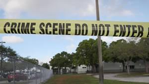Polizei-Absperrband an einem Tatort in den USA