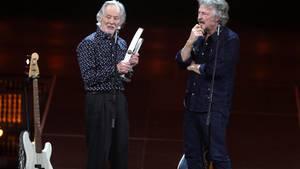 Klaus Voormann (l.) und Wolfgang Niedecken