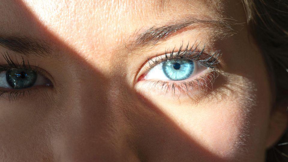 Flimmern im Auge