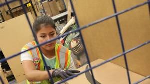 Amazon steht wegen der Arbeitsbedingungen immer wieder in der Kritik.