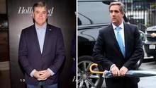 Donald Trump-Freunde Sean Hannity und Michael Cohen
